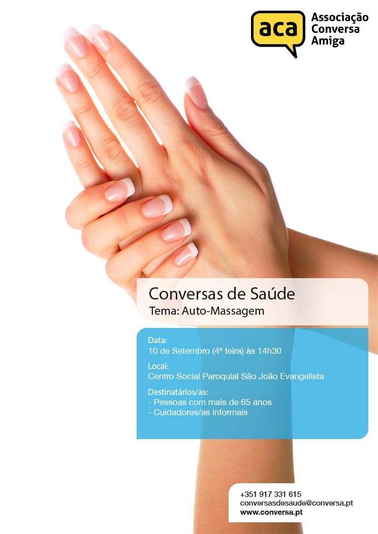Projeto Conversas de Saúde – Tema: Auto-Massagem