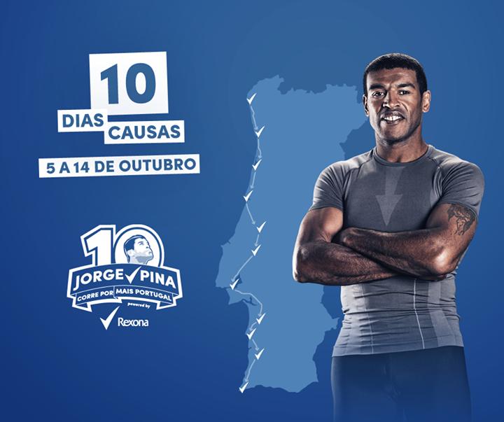 Jorge Pina Corre Por Mais Portugal