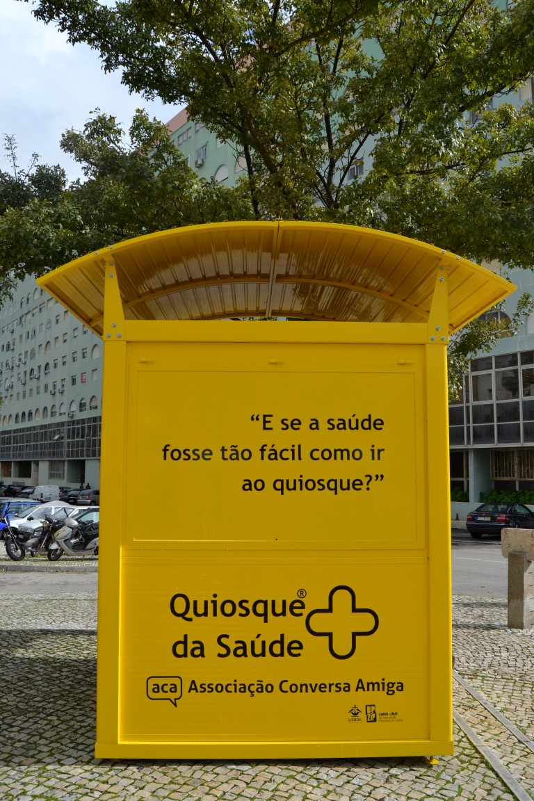 Inauguração Quiosque da Saúde ®