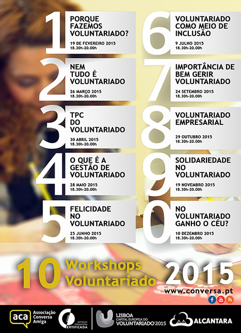 Workshops Voluntariado ACA 2015