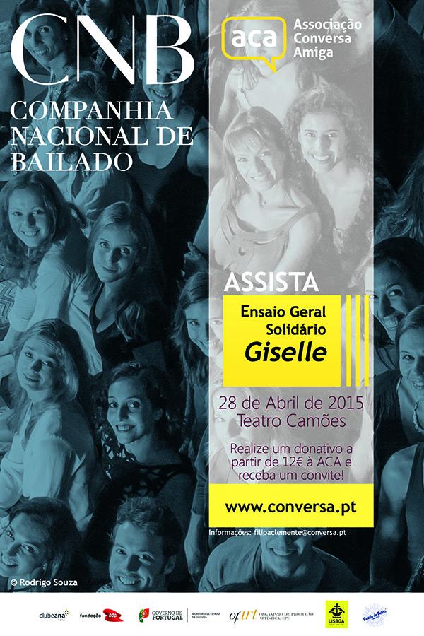 Ensaio Geral Solidário da Companhia Nacional de Bailado – Giselle