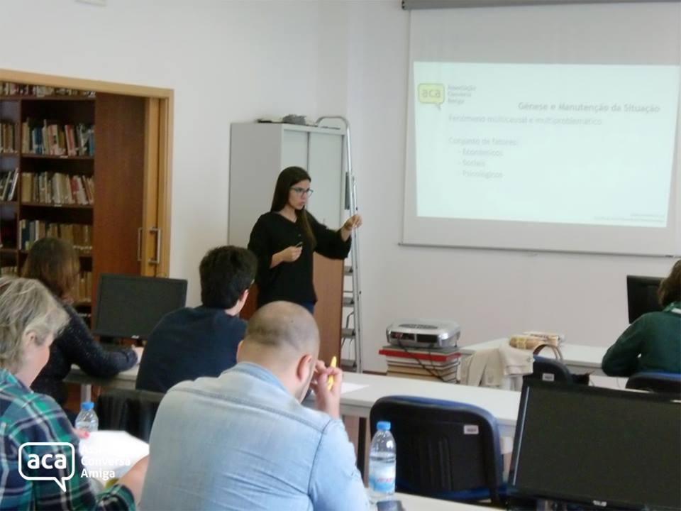 Curso de Formação em Voluntariado com Pessoas em Situação de Sem-Abrigo