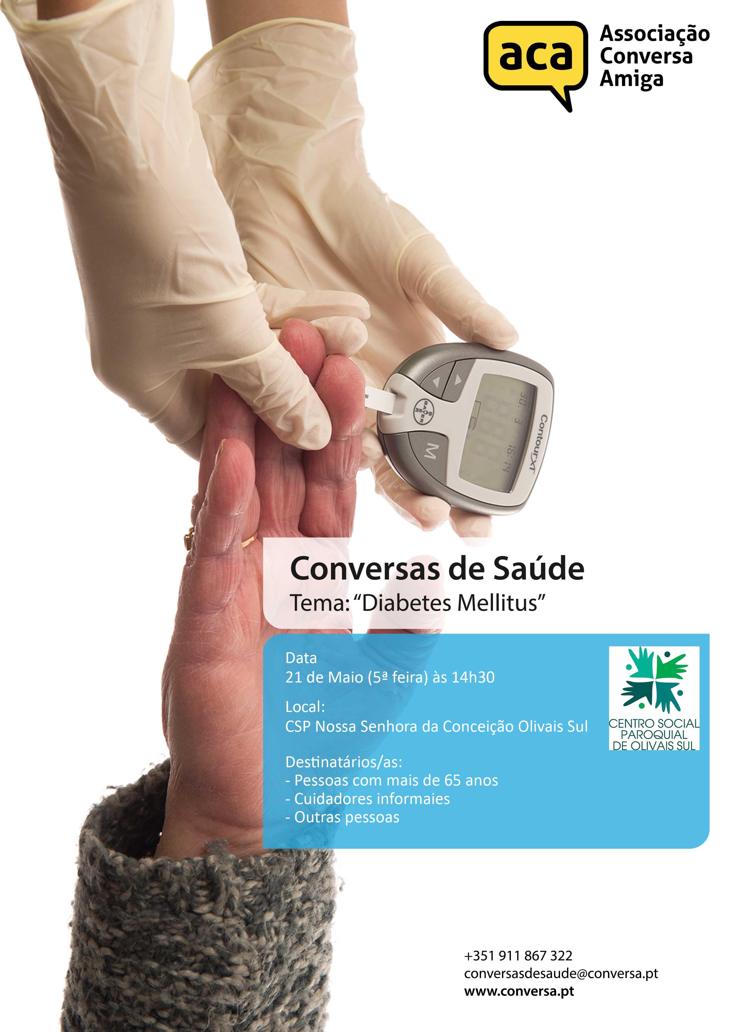 "Projeto Conversas de Saúde  ""Diabetes Mellitus"""