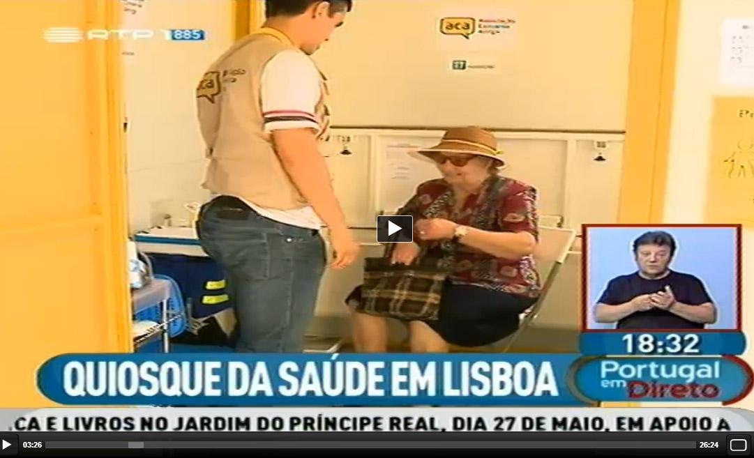 ACA no Portugal em Direto da RTP   26 de Maio