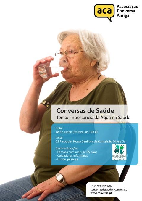 Conversas de Saúde | A Importância da Água na Saúde