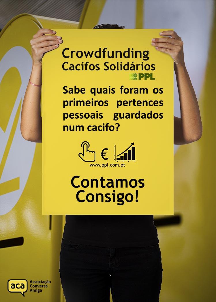 Cacifos Solidários | Campanha