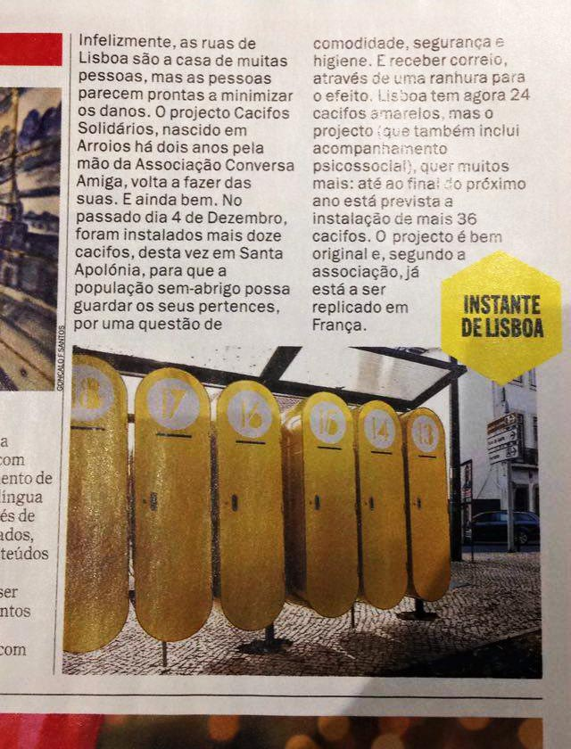 ACA na  Time Out Lisboa