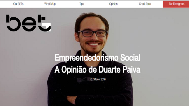 Empreendedorismo Social | Artigo BETup