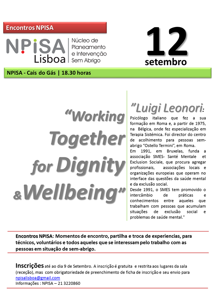 """Working Together for Dignity & Wellbeing"" 