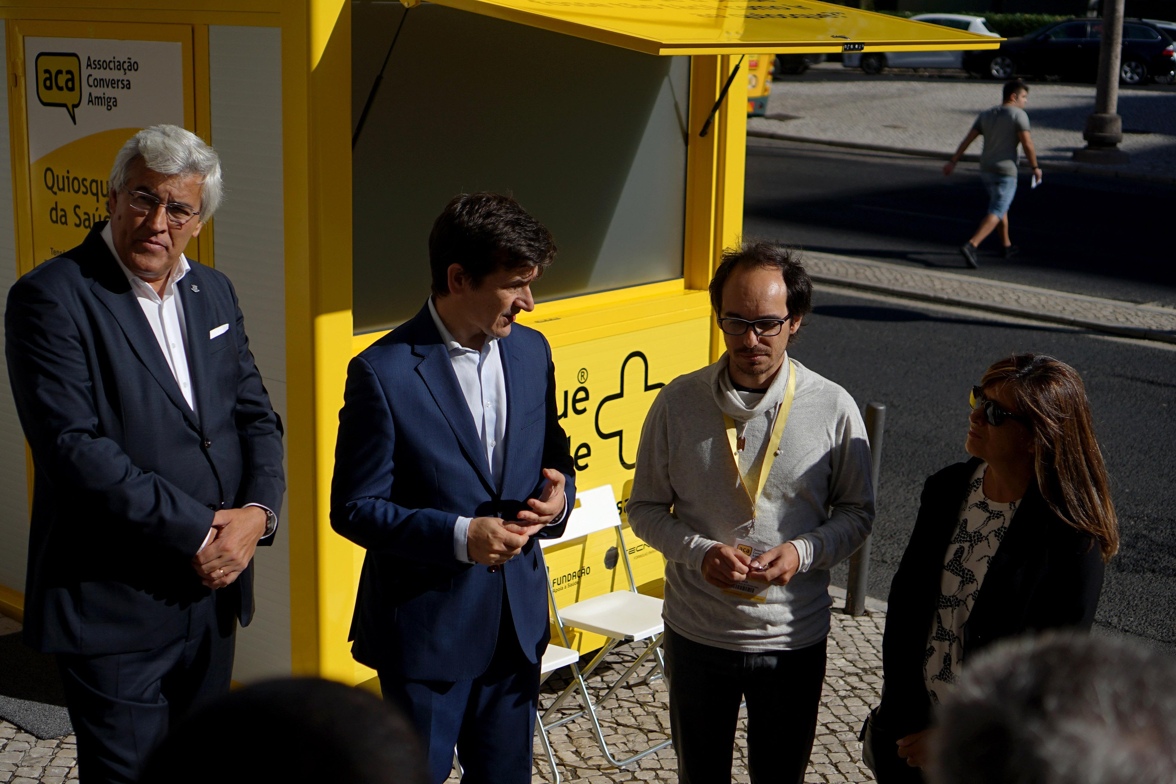 Abriu um novo Quiosque da Saúde na capital