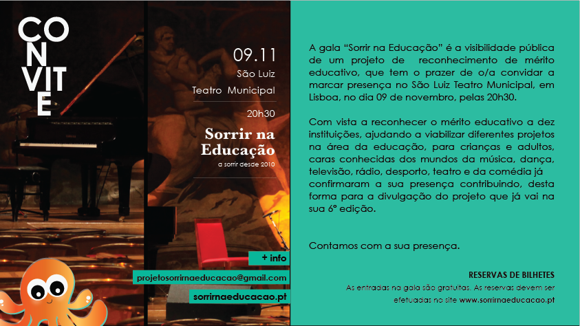 ACA na 6ª Gala Sorrir na Educação