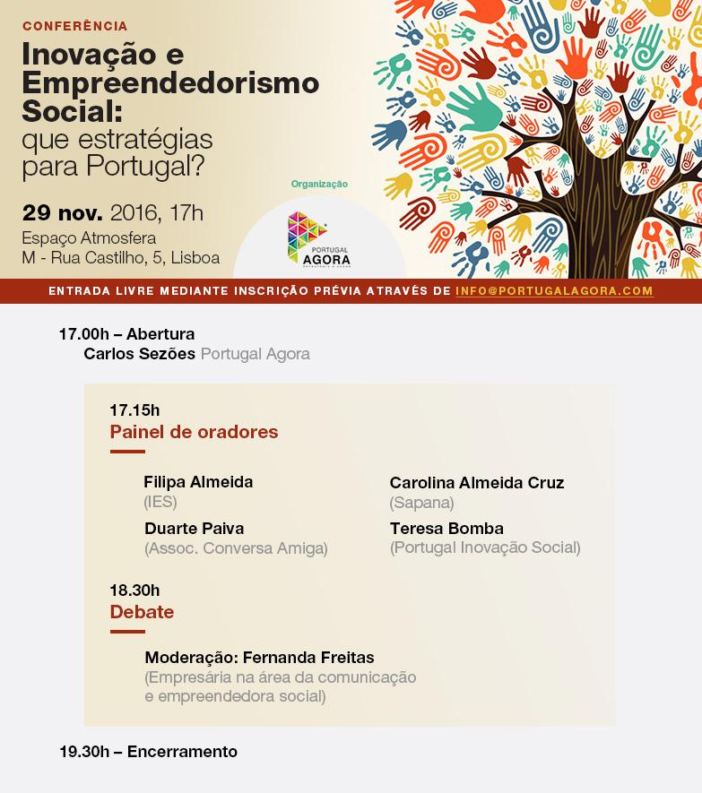 """ACA na Conferência """"Inovação e Empreendedorismo Social: que estratégias para Portugal?"""""""