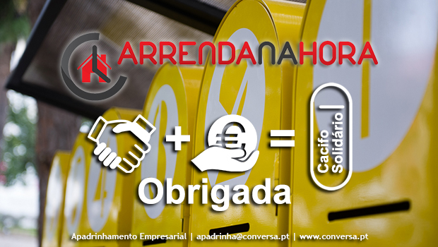 Apadrinhe 1 Cacifo Solidário / Empresas