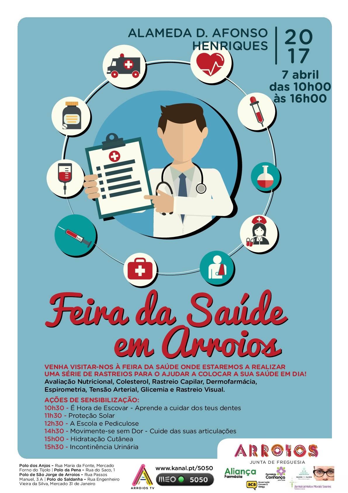 Feira da Saúde em Arroios | 7 Abril