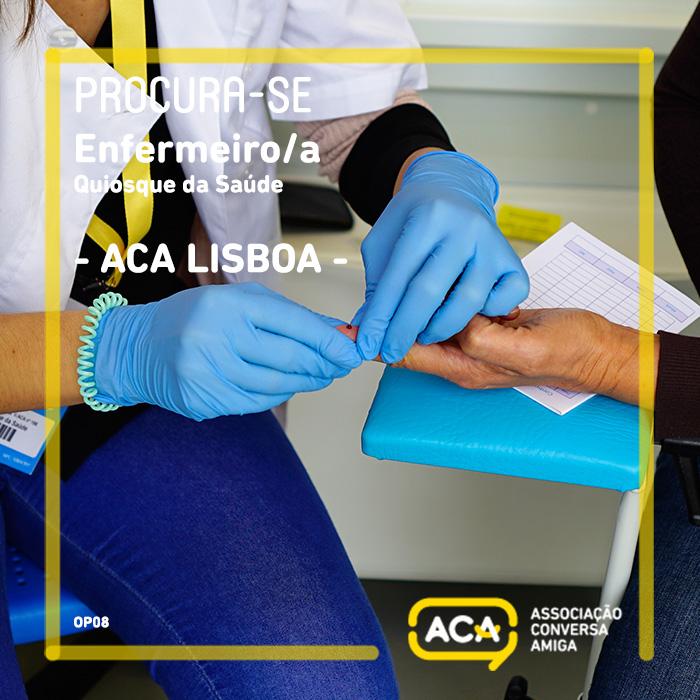 Oportunidade Trabalho / Posto: Enfermeiro/a (Lisboa)