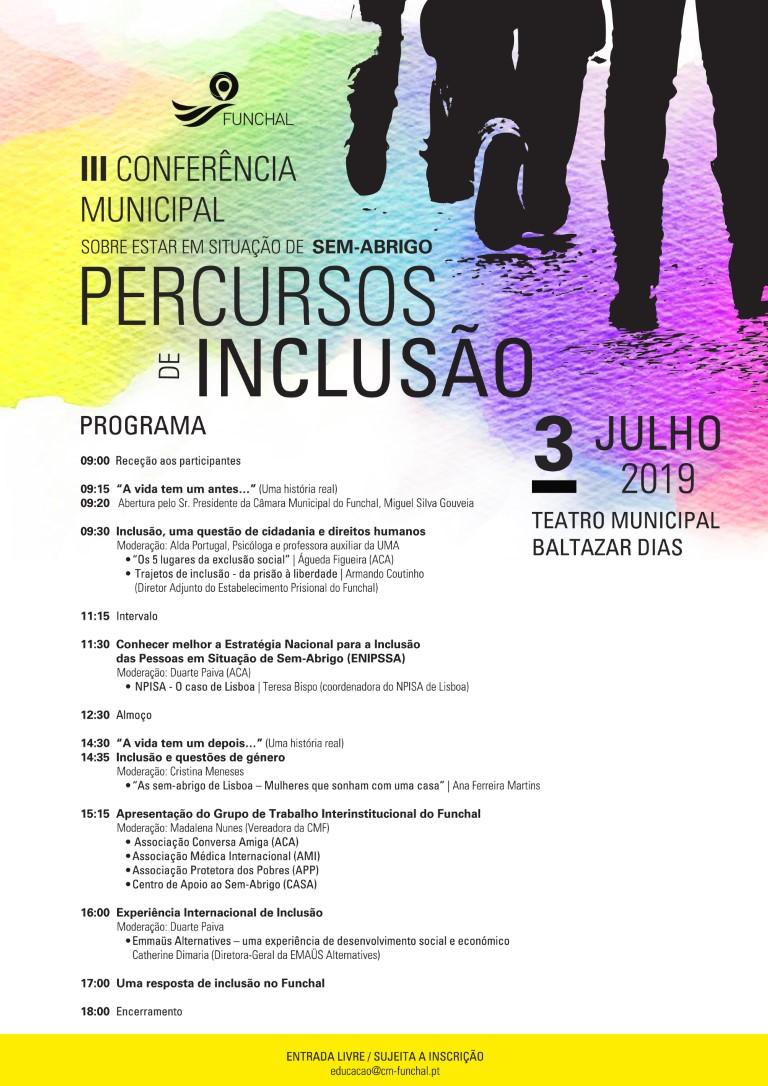 """Percursos de Inclusão"" / Funchal"