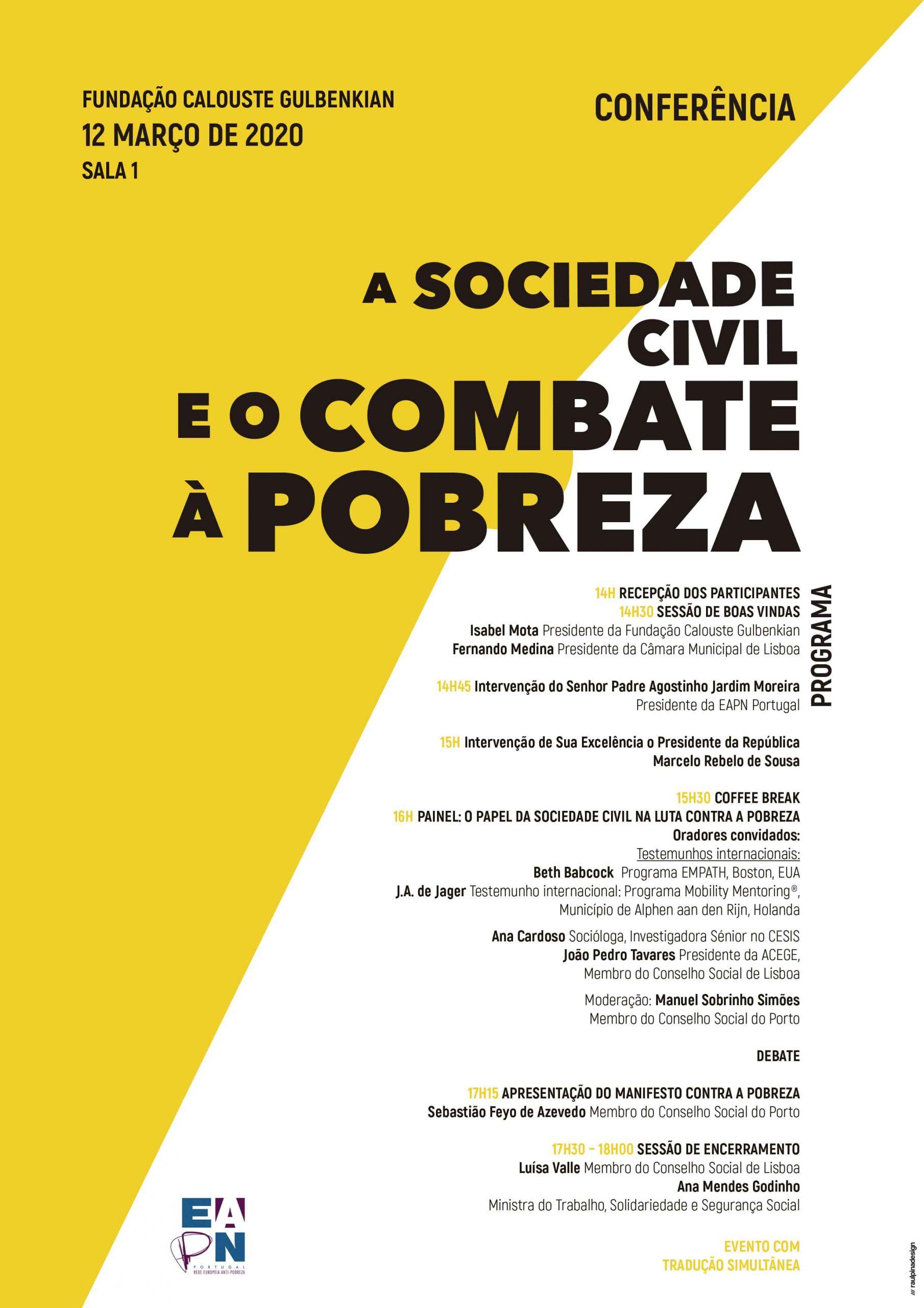 A Sociedade Civil e o Combate à Pobreza