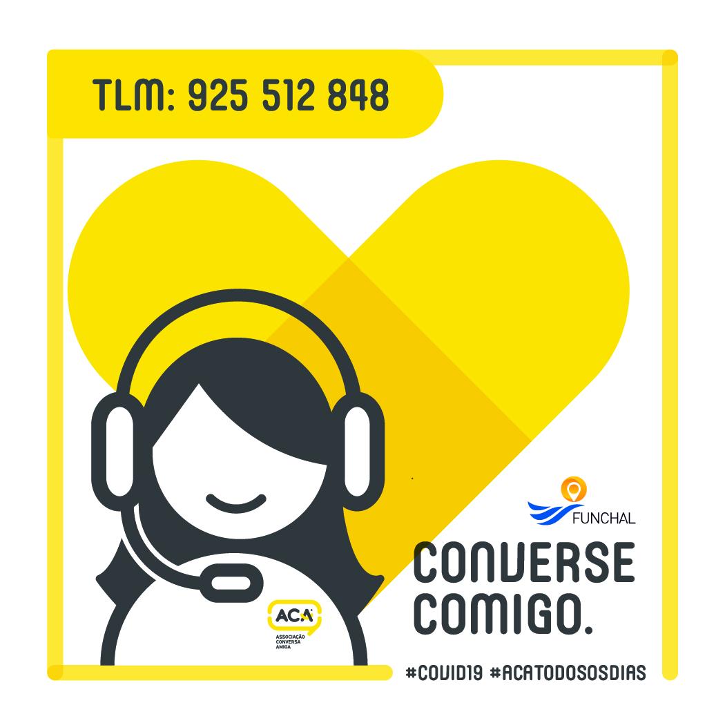 CONVERSE COMIGO. – Funchal