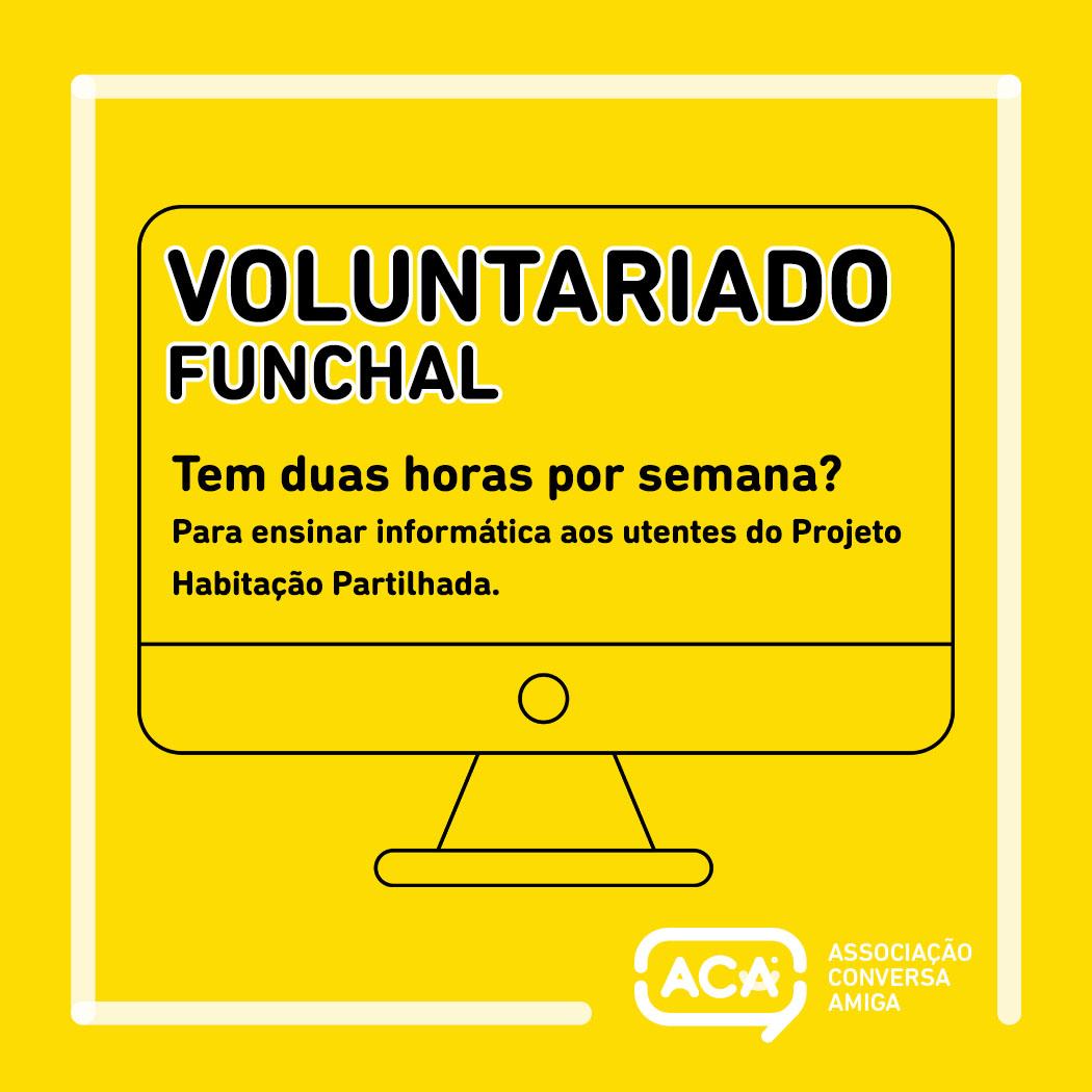 Oportunidade de Voluntariado – ACA Funchal